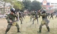 Chiến sĩ Bộ tư lệnh Thủ đô lập công, tô hồng Tháng thanh niên
