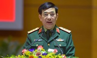 Thượng tướng Phan Văn Giang. Ảnh: Nguyễn Minh