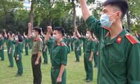 Bác sĩ quân y tương lai sẵn sàng vào điểm nóng chống dịch COVID-19