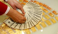 Giá vàng, USD quay đầu giảm nhẹ. Ảnh minh hoạ