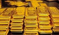 Giá vàng bất ngờ tăng giá. ảnh minh hoạ