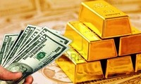 Cuối tuần, giá vàng, dầu thô tăng giá, USD quay đầu giảm. ảnh minh hoạ