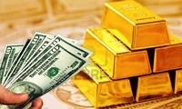 Giá vàng thế giới lại lên mức cao nhất trong 8 năm. ảnh minh hoạ
