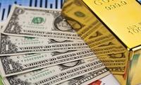 Giá vàng tiếp tục tăng mạnh, USD giảm sâu. ảnh minh hoạ