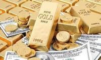 Giá vàng đồng loạt giảm. ảnh minh hoạ