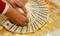 Giá vàng bật tăng, USD lao dốc. ảnh minh hoạ