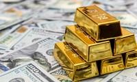 Vàng tiếp tục giảm giá.