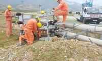 PC Hà Tĩnh khẩn trương khắc phục hậu quả của bão số 10