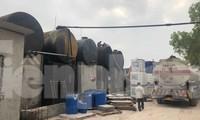 Kho chứa dầu của Cty.