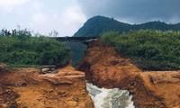 Bí thư Tỉnh ủy Phú Thọ yêu cầu làm rõ nguyên nhân vỡ đập Đầm Thìn.