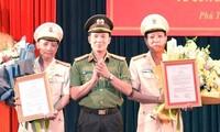 Bộ trưởng Công an bổ nhiệm hai Phó Giám đốc Công an tỉnh Phú Thọ