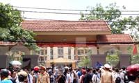 Ngày 8 và 9/6, hơn 18.000 thí sinh dự thi vào lớp 10 công lập tại Thái Bình - Ảnh: Hoàng Long