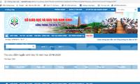 Từ 18 giờ ngày 16/6, tỉnh Nam Đinh công bố điểm thi vào lớp 10 công lập - Ảnh: Hoàng Long
