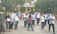 Kỳ thi tuyển sinh vào lớp 10 công lập tại Nam Định diễn ra trong 2 ngày 9/6 và 10/6 - Ảnh: Hoàng Long