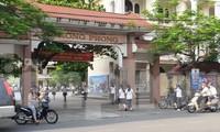 Trường THPT Lê Hồng Phong đỗ tốt nghiệp 100% và có phổ điểm đạt 8 điểm/môn theo khối khi - Ảnh: Hoàng Long