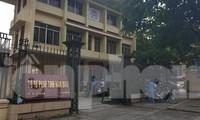 Sở Tư pháp Nam Định, nơi có 2 cán bộ vừa bị bắt, khởi tố - Ảnh: Hoàng Long