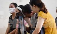 Sáng nay, 17/7, TAND tỉnh Thái Bình xử sơ thẩm vụ án đầu độc chết người bằng trà sữa có chứa chất độc Xyanua - Ảnh: Hoàng Long
