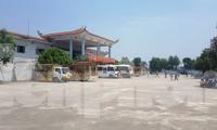 Để được hoả táng tại Đài hoá thân tại Nam Định, mỗi ca hoả táng ở Thái Bình phảo nộp phế 500 nghìn đồng - Ảnh: Hoàng Long