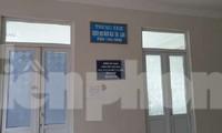 Trung tâm Dịch vụ đấu giá tài sản Thái Bình, nơi có 3 cán bộ vướng vào pháp luật vì cờ bạc, thông thầu - Ảnh: Hoàng Long