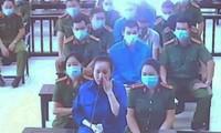 Nguyễn Thị Dương là bị cáo duy nhất đã gửi đơn kháng cáo đến TAND cấp cao tại Hà Nội - Ảnh: Hoàng Long