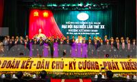 Ban Chấp hành Đảng bộ tỉnh Hà Nam khoá XX ra mắt tại Đại hội Đảng bộ tỉnh - Ảnh: Hoàng Long