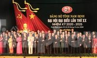 Đại hội đã bầu ra Ban Chấp hành Đảng bộ tỉnh Nam Định khoá XX gồm 53 người - Ảnh: Hoàng Long