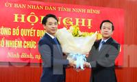 Nam Định, Ninh Bình bổ nhiệm nhân sự mới