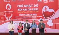 Chủ nhật Đỏ tại Nam Định thu hút hàng ngàn đoàn viên thanh niên