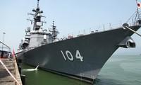 Chiến hạm Hải quân Nhật Bản cập cảng Đà Nẵng