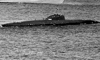 """Tàu ngầm hạt nhân """"K-324"""". Ảnh: Public Domain."""