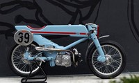 Honda Super Cub độ phong cách cafe racer siêu độc