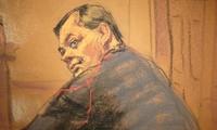 Phác họa chân dung Evgeny Buryakov.