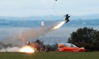 Thử nghiệm ghế phóng của tiêm kích F-35. Ảnh: Martin-Baker.