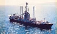 Tàu Glomar Explorer. Ảnh: Huffington Post.