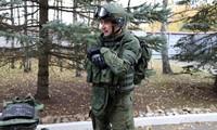 Phiên bản Ratnik rút gọn cho lính công binh Nga. Ảnh: Vitaly V. Kuzmin.