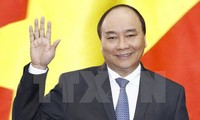 Thủ tướng Nguyễn Xuân Phúc và Phu nhân cùng đoàn đại biểu cấp cao Việt Nam sẽ thăm chính thức Hợp chúng quốc Hoa Kỳ. Ảnh: Thống Nhất/TTXVN.