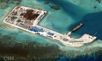 Trung Quốc bồi đắp trái phép các đảo trên khu vực Biển Đông. (Nguồn: CSIS)
