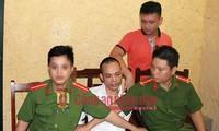 Lê Văn Thọ lúc bị bắt.