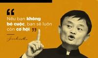 10 phát ngôn truyền cảm hứng cho giới trẻ của Jack Ma