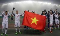 U23 Việt Nam lần đầu tiên trong lịch sử, giành vé vào chung kết giải U23 châu Á.