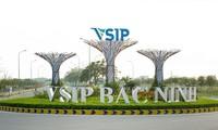 Gần 25ha đất trong Khu đô thị và dịch vụ VSIP Bắc Ninh được Công ty TNHH VSIP nhượng lại cho 5 đối tác xây nhà liền kề, biệt thự.
