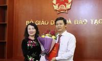 Bộ Giáo dục và Đào tạo bổ nhiệm nhân sự mới