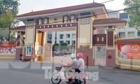 Trụ sở UBND huyện Vĩnh Tường - nơi đoàn Thanh tra Bộ Xây dựng bị lập biên bản vì có hành vi đòi chung chi lên đến chục tỷ đồng. Ảnh: Phan Thiên.