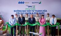 Bamboo Airways khai trương 3 đường bay mới