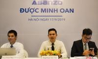 Ông Phạm Văn Tam – Chủ tịch HĐQT Asanzo (giữa), ông Phạm Ngọc Hưng - Cố vấn (trái) và ông Trần Đức Hoàng – Luật sư (phải)