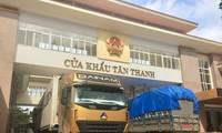 Hiện có gần 500 xe chở nông sản đang bị ùn ứ tại cửa khẩu Tân Thanh