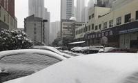 Mưa tuyết rơi dày ở Thường Châu ảnh hưởng tới kế hoạch tập luyện của U23 Việt Nam.