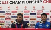 HLV Ravshan Khaydarov của U23 Uzbekistan