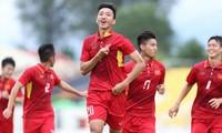 Văn Hậu là cầu thủ trẻ tiềm năng của bóng đá Việt Nam.
