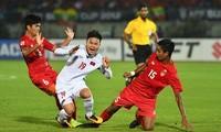Quang Hải chưa thực sự toả sáng ở vị trí tiền vệ trung tâm tuyển Việt Nam.